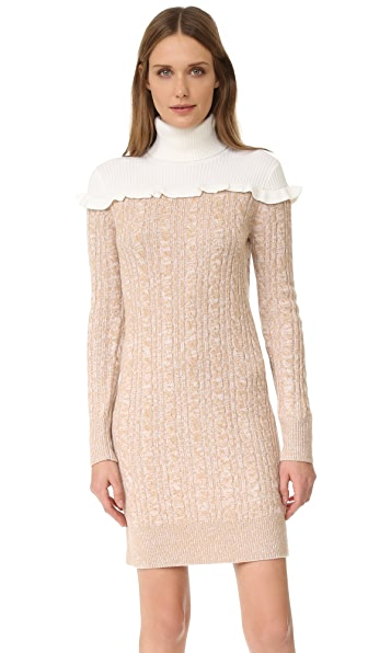Club Monaco Panthea Dress - Latte