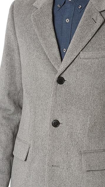 Club Monaco Wool Cashmere Topcoat