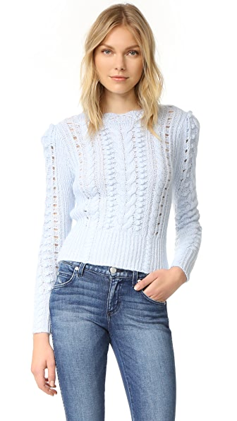 Club Monaco Bahram Sweater - Pale Blue