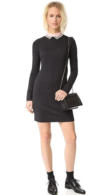Club Monaco Lissah Lace Collar Sweater Dress