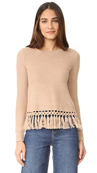 Club Monaco Beberly Sweater - Iced Latte