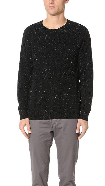 Club Monaco Cashmere Donegal Crew Sweater