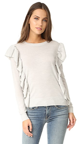 Club Monaco Flutterby Sweater - Light Heather Grey