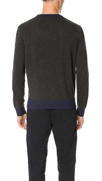 Club Monaco Synth Trim Crew Sweater