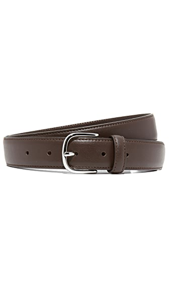 Club Monaco Leather Dress Belt