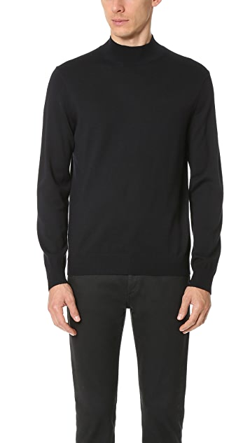 Club Monaco Marled Mockneck Sweater