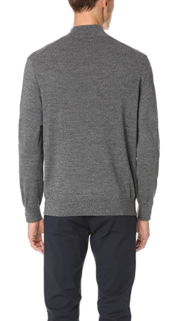 Club Monaco Marled Mock Neck Sweater
