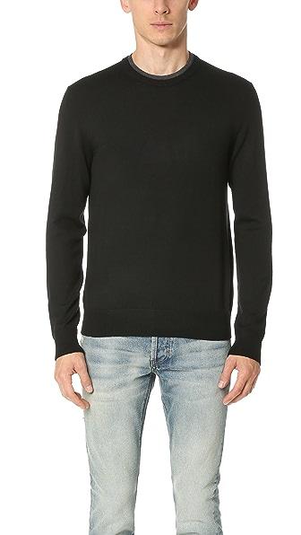 Club Monaco Merino Double Collar Sweater