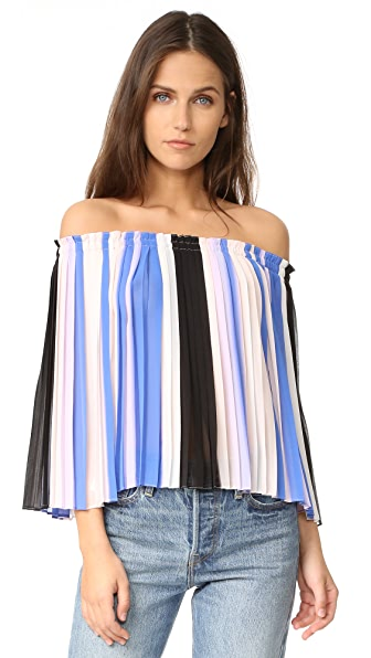 Club Monaco Viselin Top - Multi