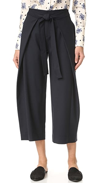 Club Monaco Baruska Pants - Aviator Navy