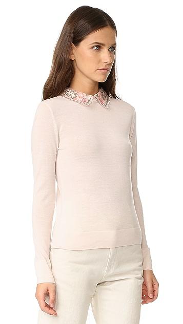 Club Monaco Kalani Collar Sweater