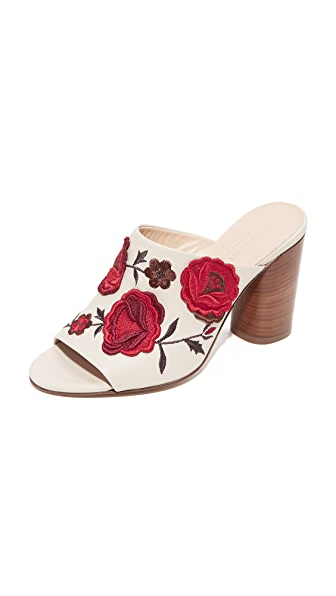 Club Monaco Chandisse Mules - Multi Floral Red