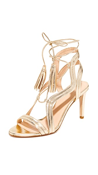 Club Monaco Juki Sandals - Metallic