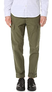 Club Monaco Tapered Military Trousers