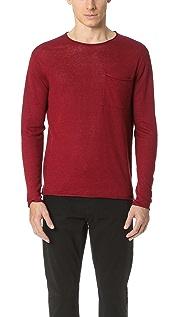 Club Monaco Lightweight Linen Sweater