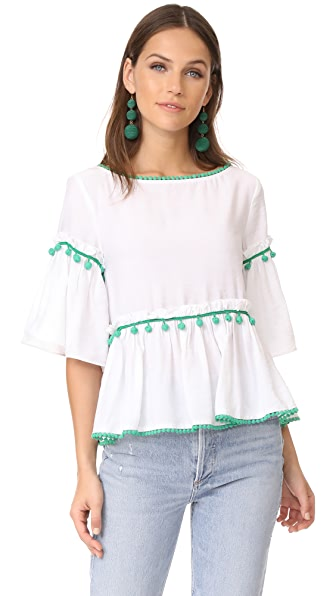 Club Monaco Emberlynn Top - Pure White