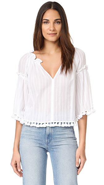 Club Monaco Tansa Top In White