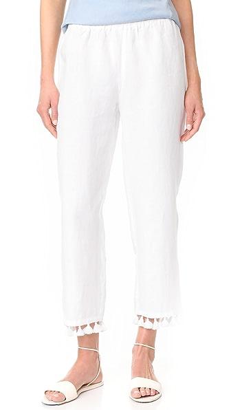 Club Monaco Klina Pants - Pure White