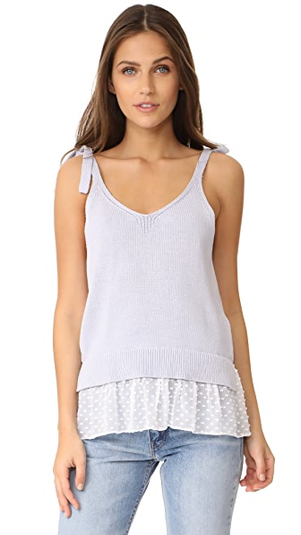 Club Monaco Emberlynn Sweater Tank