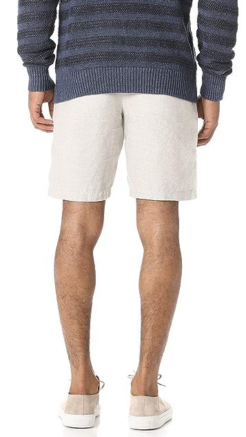 Club Monaco Maddox Linen Shorts