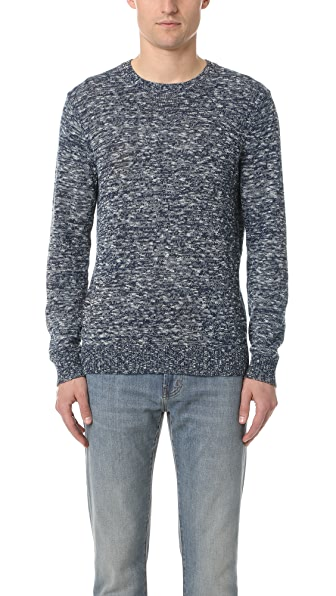 Club Monaco Slub Space Crew Sweater