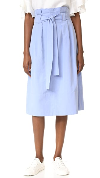 Club Monaco Dilys Skirt - Ocean Blue