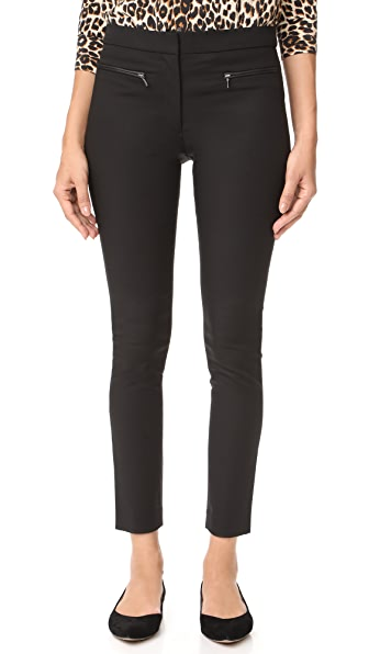 Club Monaco Emily Pants In Black