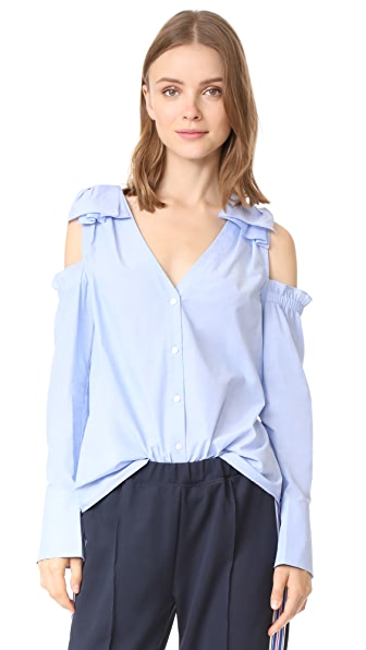 Club Monaco Shiyah Top - Blue