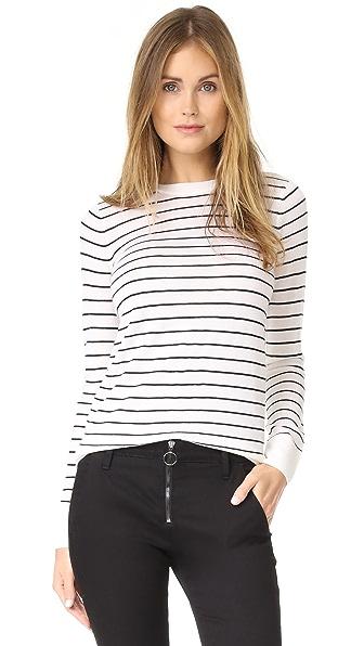 Club Monaco Mackenzie Sweater - Navy Stripe