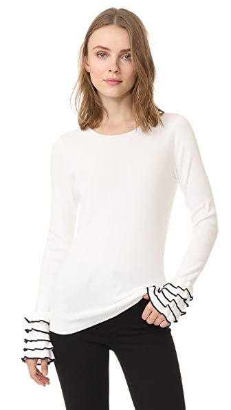 Club Monaco Lillyvel Sweater - White
