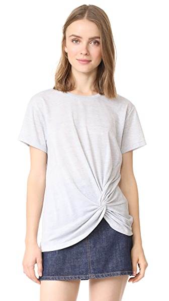 Club Monaco Aren Top - Grey Heather