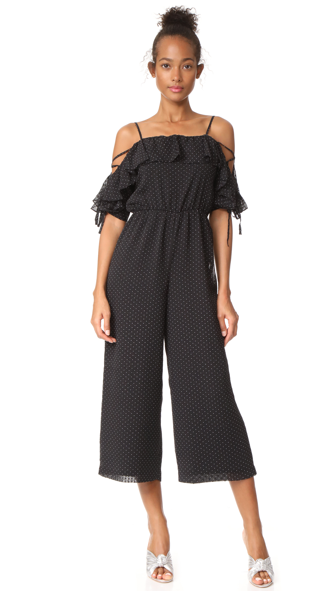 Club Monaco Kymbrah Jumpsuit - Pin Dot