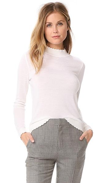 Club Monaco Archibelle Sweater In Blanc De Blanc