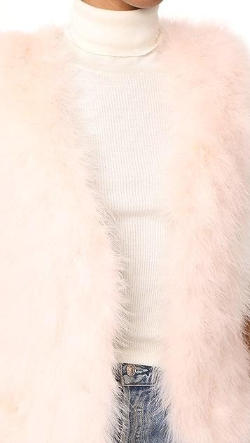 Club Monaco Violet Vest