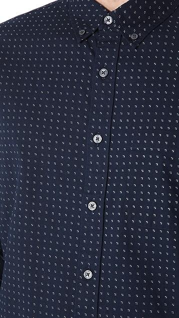 Club Monaco Geo Dot Shirt
