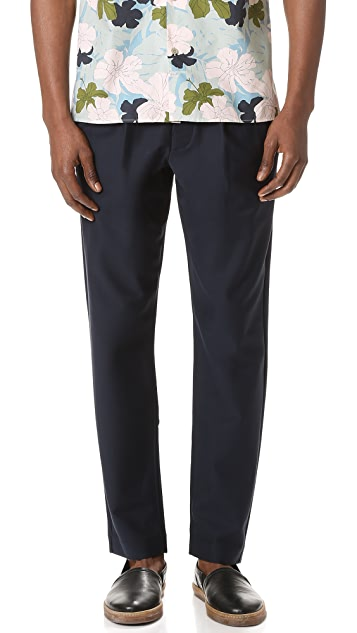 Club Monaco Twill Trousers