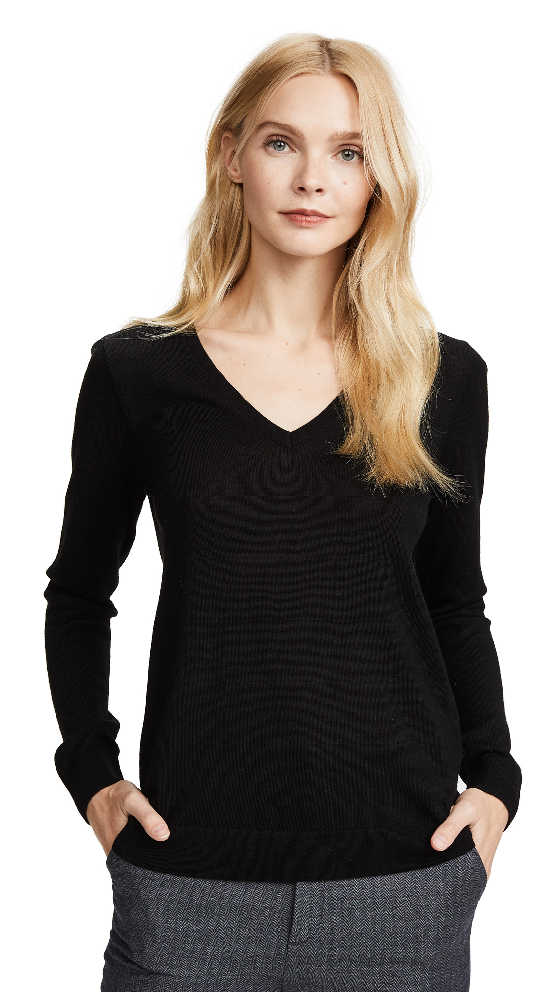 Club Monaco Agnes Sweater - Soot Black