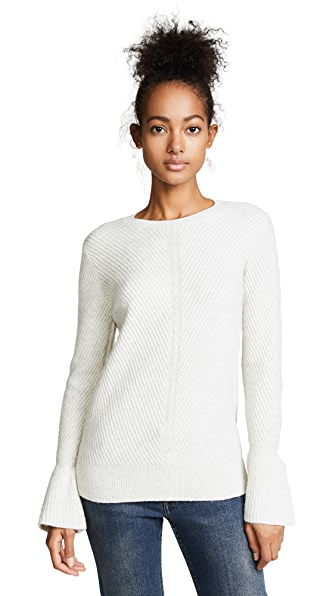 Club Monaco Andreah Sweater In Pale Grey