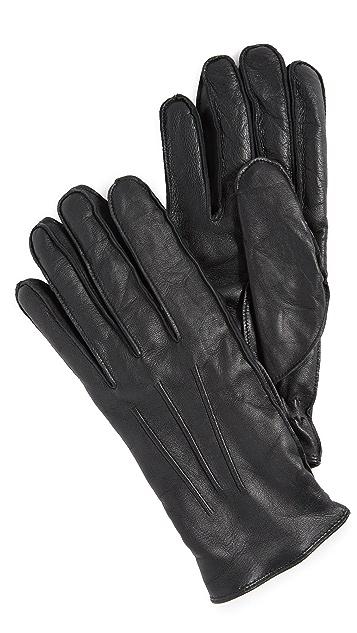 Club Monaco Refined Leather Gloves