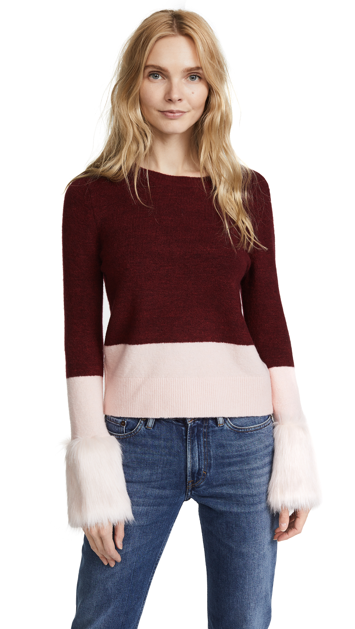 Club Monaco Tesslyn Sweater - Pale Pink