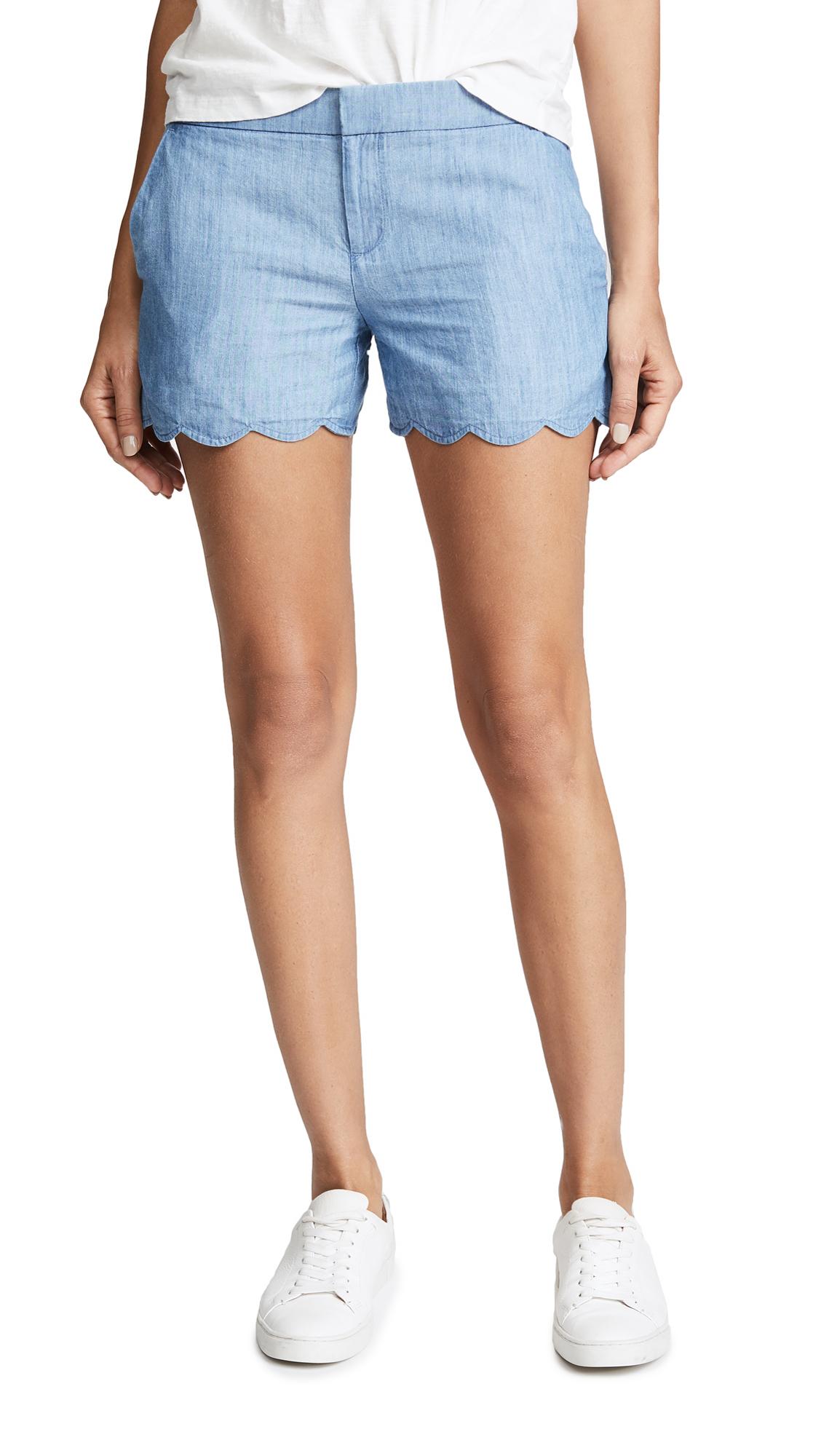 Club Monaco Amber Shorts - Indigo