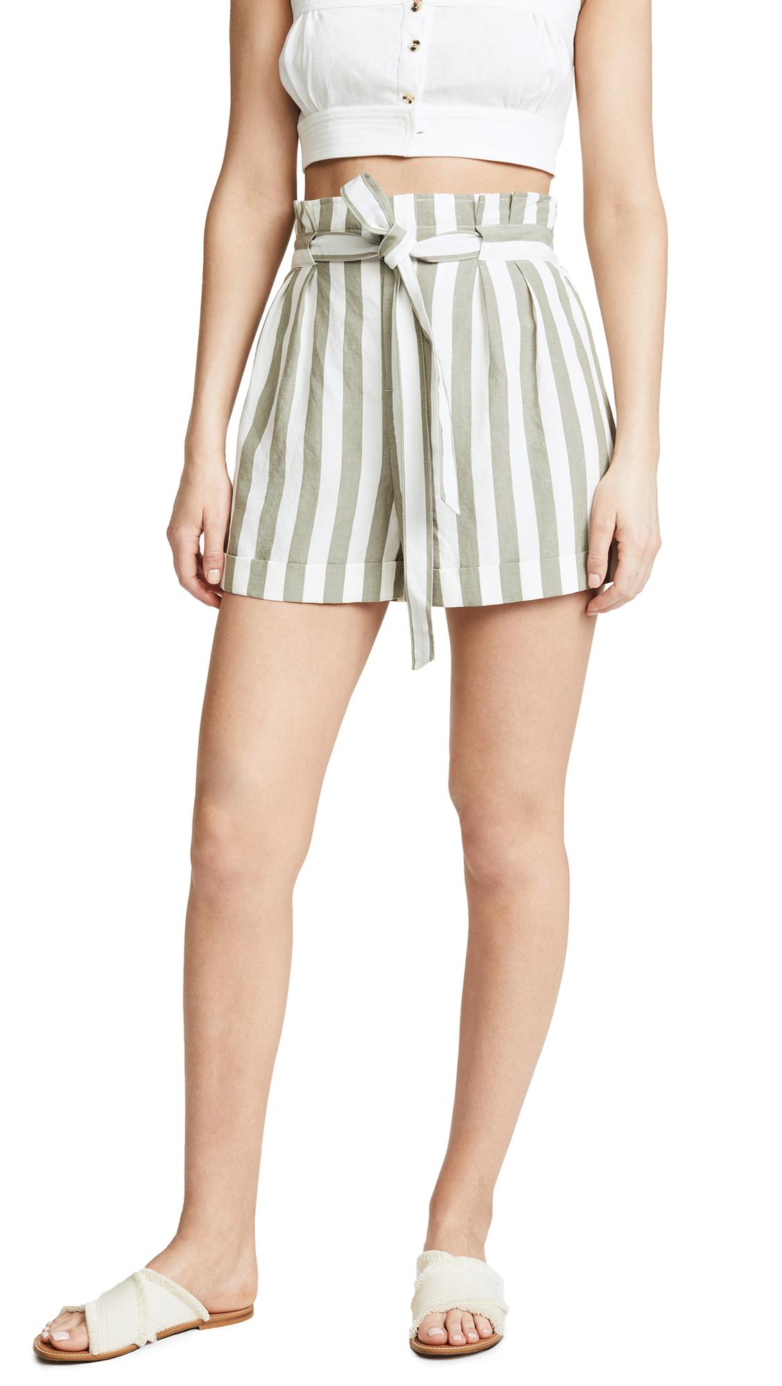 Club Monaco Anree Shorts - White Multi
