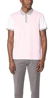 Club Monaco Colorblock Polo Shirt