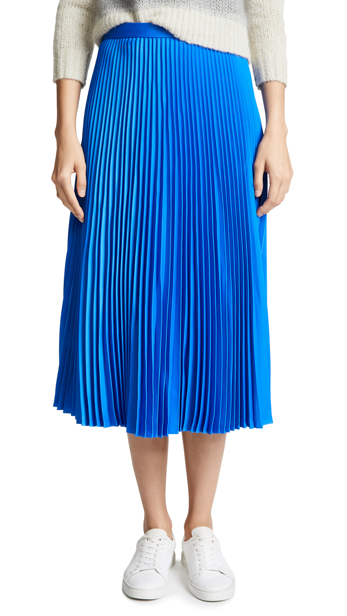 Club Monaco Anninna Skirt In Blue Orchid