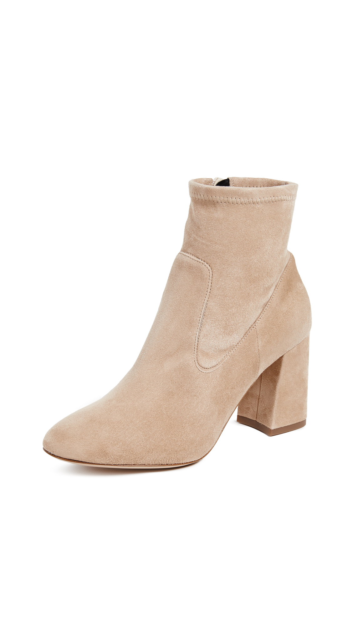 Club Monaco Rhona Booties - Camel
