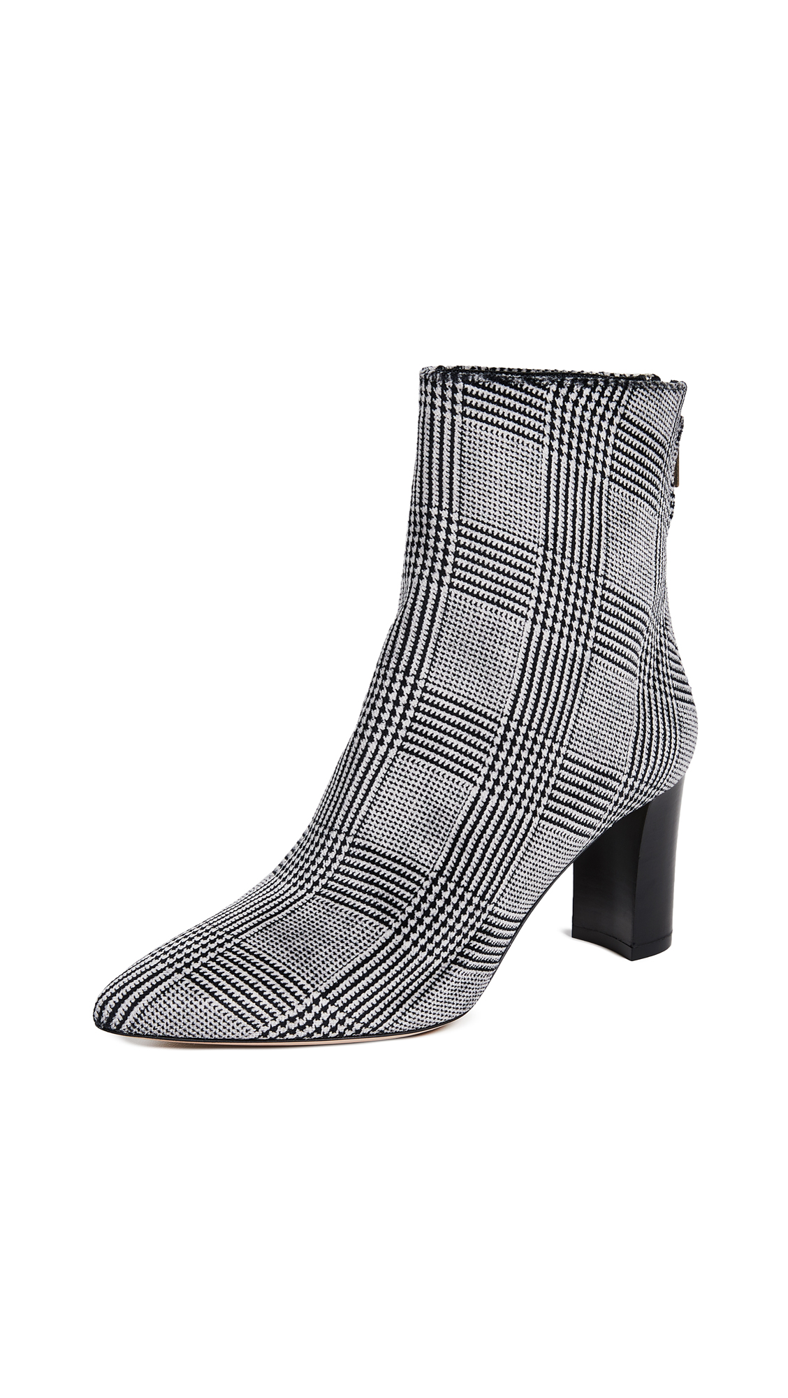 Club Monaco Aaylina Booties - Black/White
