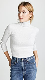 Club Monaco Julie Rib Turtleneck Sweater