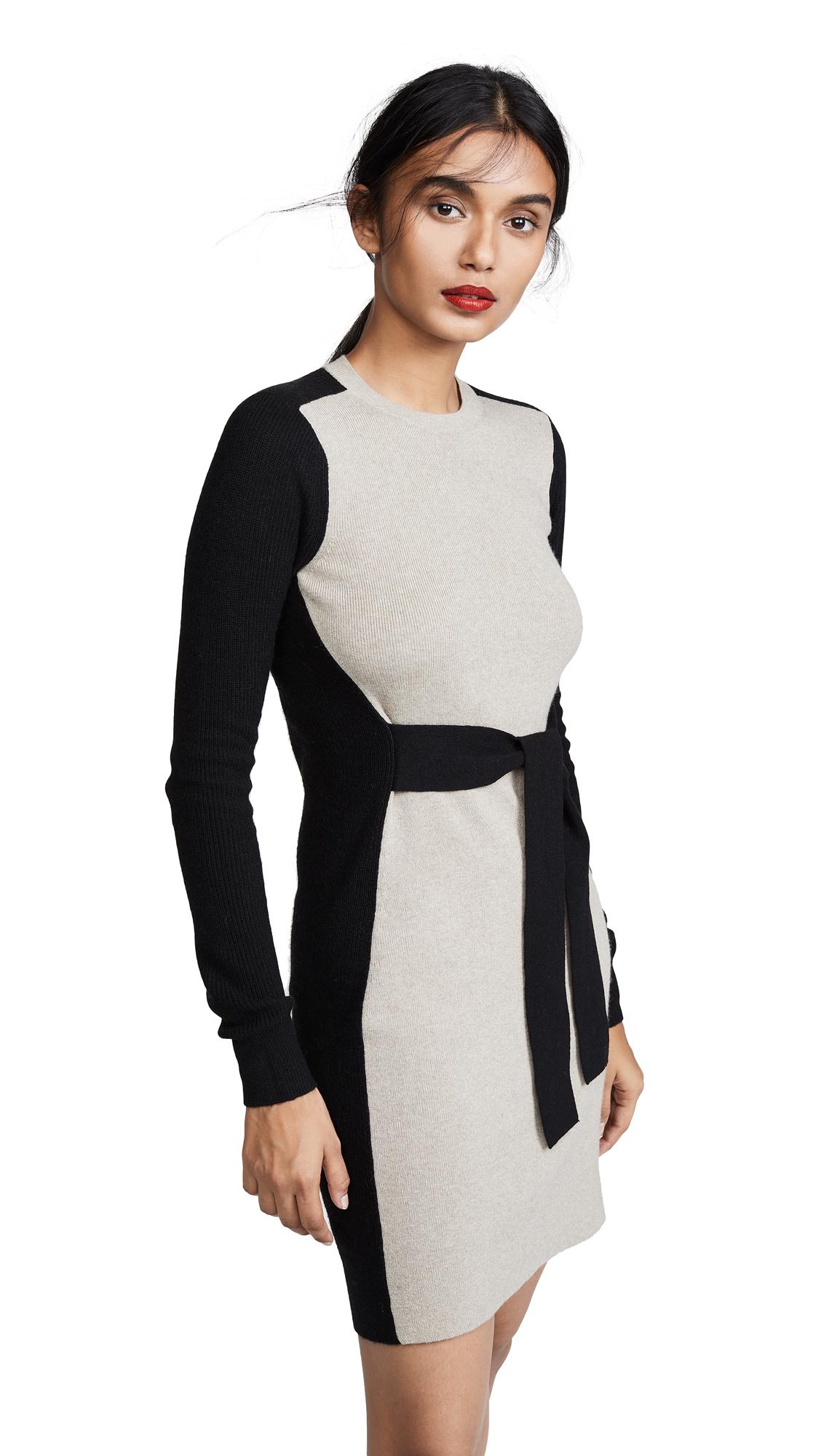 Club Monaco Arnettie Dress - Black Multi