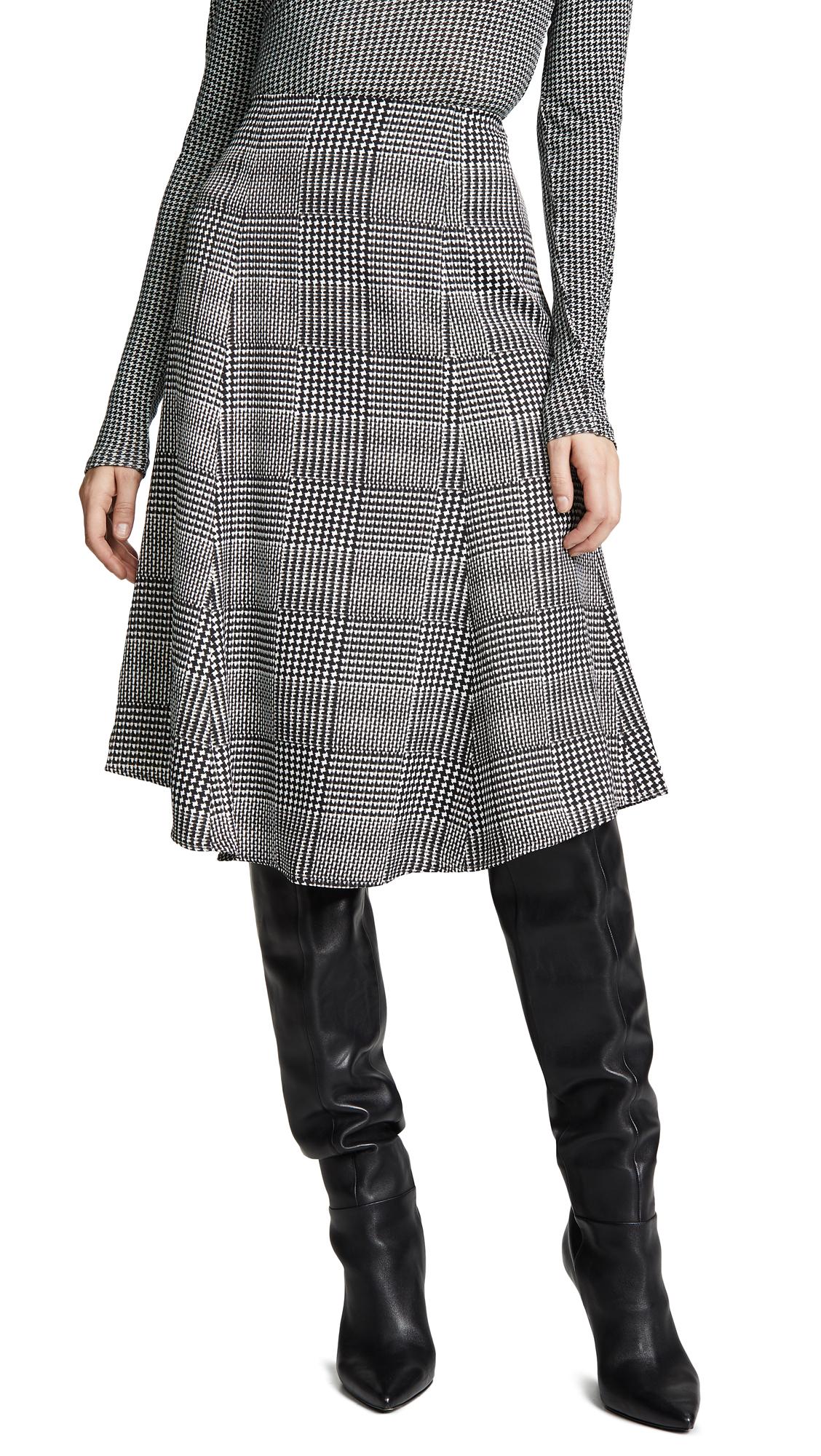 Club Monaco Rinty Skirt - Black Multi