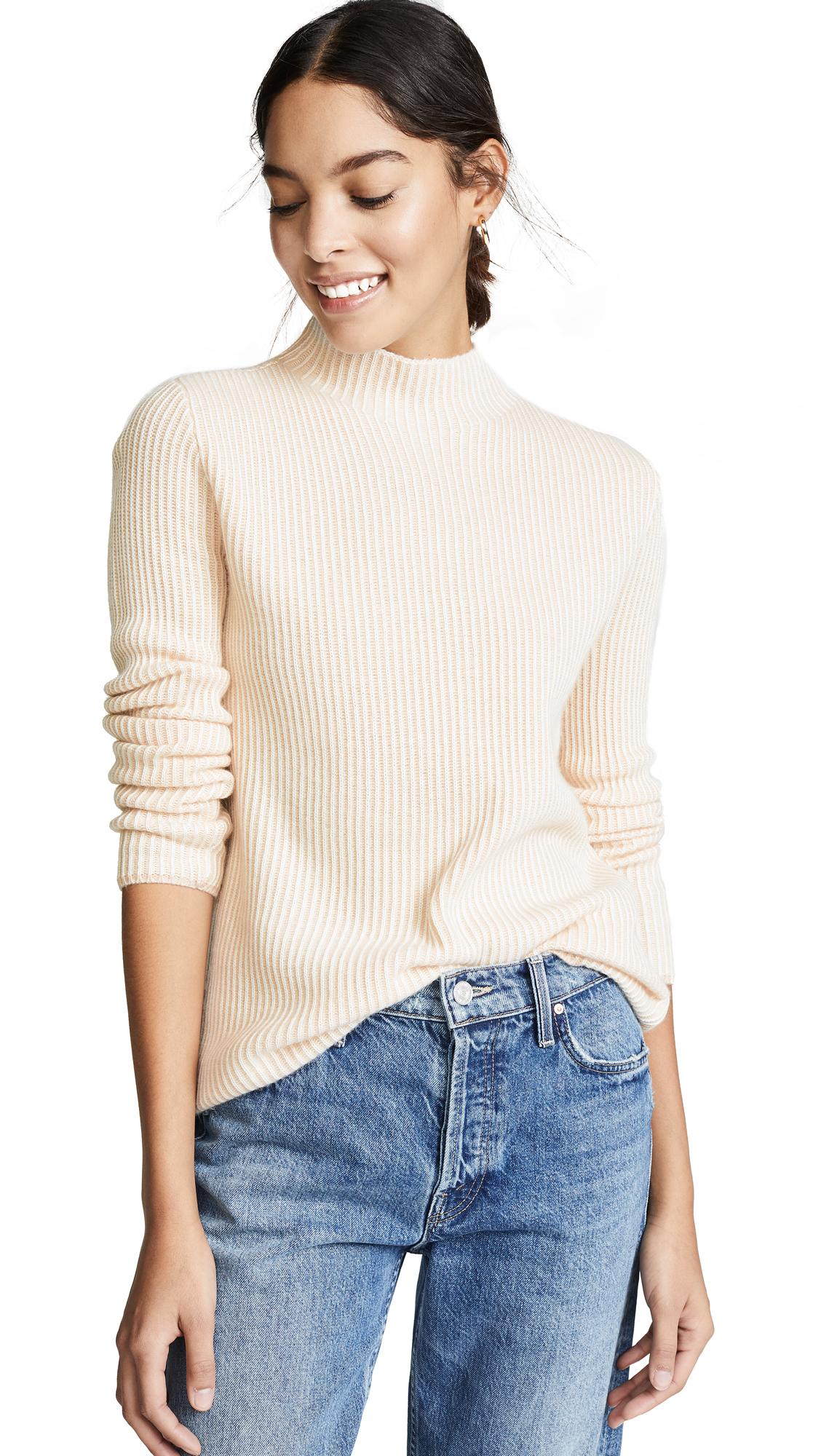 Club Monaco Margee Cashmere Sweater - Praline